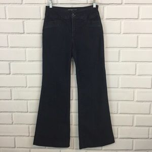 Not Your Daughters Flared Trouser Dark Wash Jeans